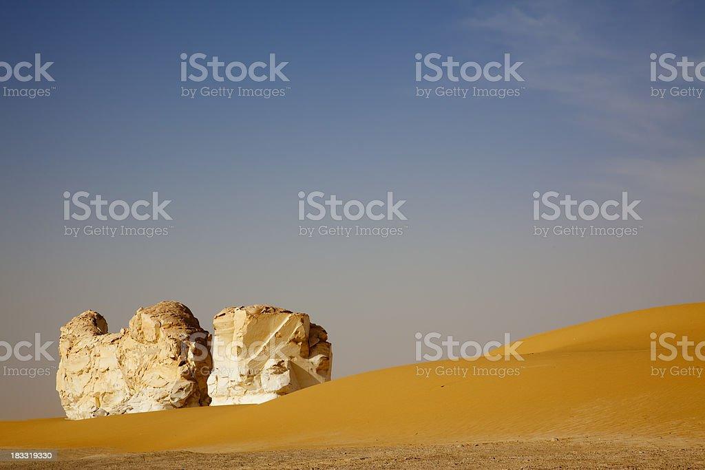 Kalksteine der Weissen Wueste royalty-free stock photo