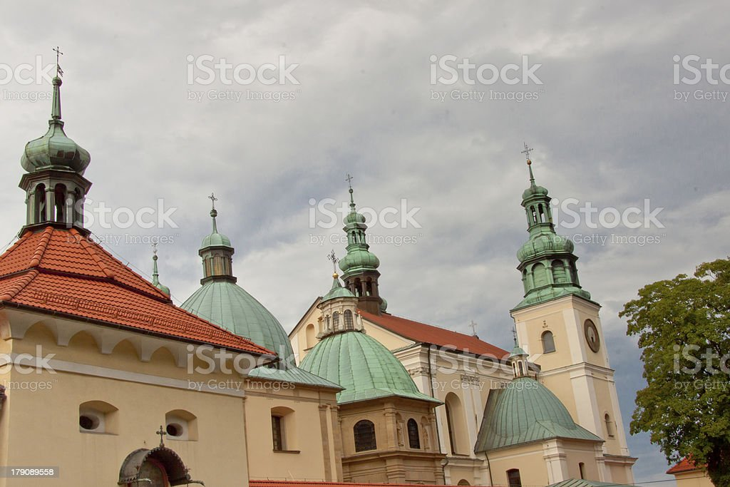 Kalwaria Zebrzydowska Sanctuary. stock photo