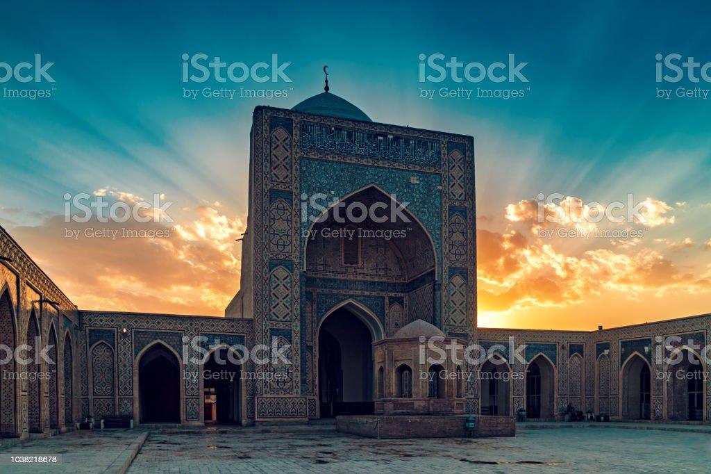 Kalyan Mosque in Bukhara stock photo