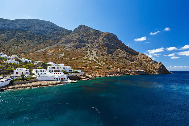 Kamares, Sifnos. 스톡 사진