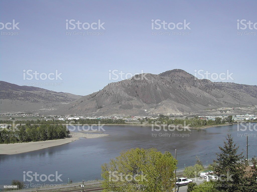 Kamloops, BC, Canada royalty-free stock photo