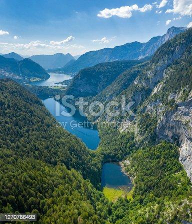 istock Kammersee, Toplitzsee, Grundlsee - Three Lake Panorama, Austria 1270766493