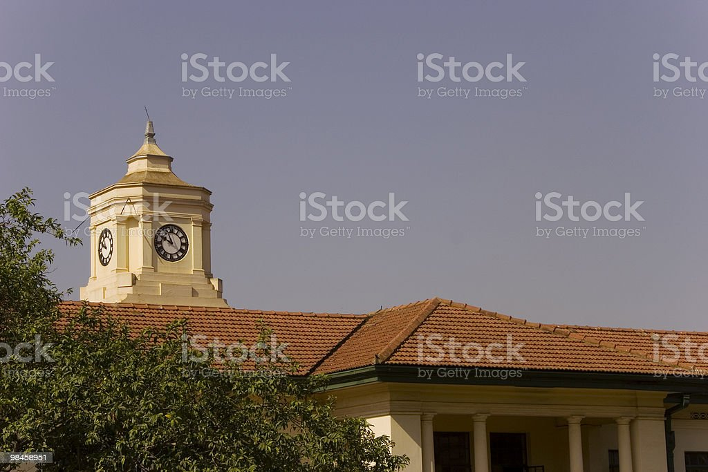 Kampala High Court royalty-free stock photo