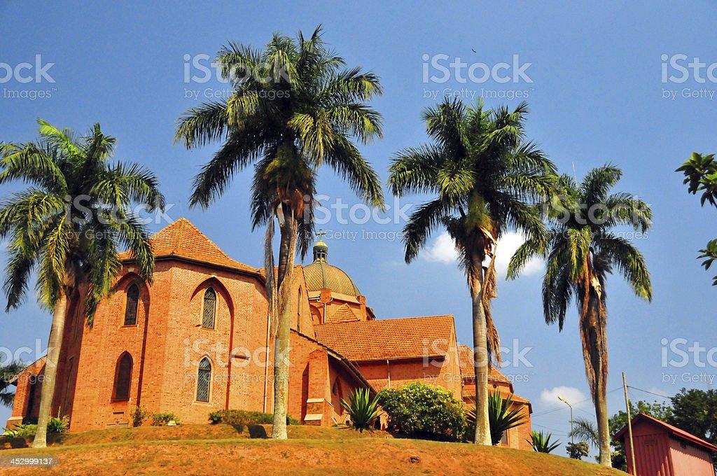 Kampala, Uganda: St. Paul's Anglican Cathedral stock photo