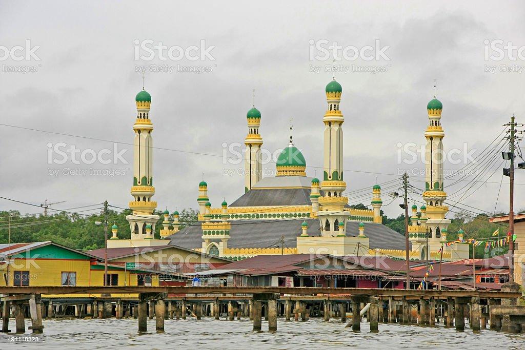 Kampong Ayer, Bandar Seri Begawan, Brunei, Southeast Asia stock photo