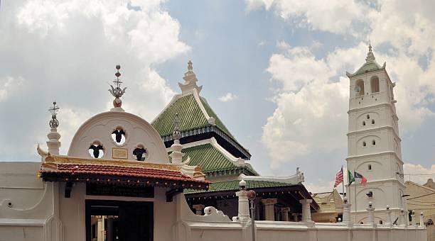 UNESCO Kampung Kling Mosque. Malacca, Malaysia stock photo