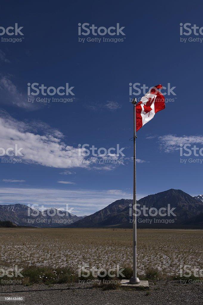 Kanada Flagge stock photo