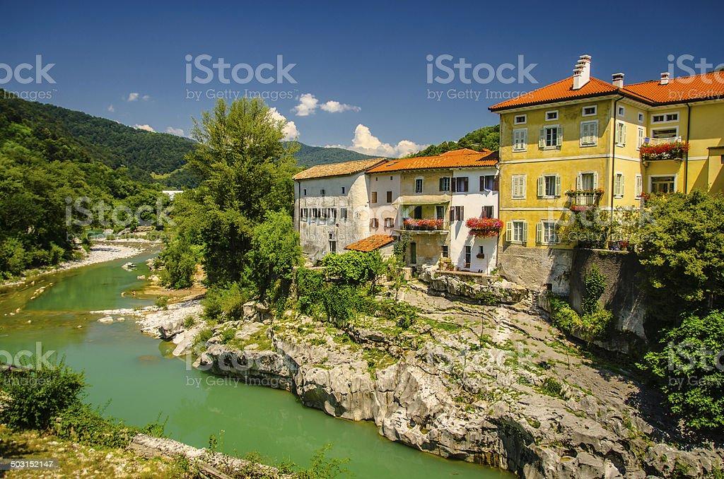 Kanal - Slovenia royalty-free stock photo
