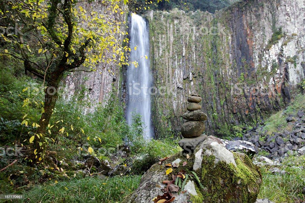Kaname's Waterfalls stock photo