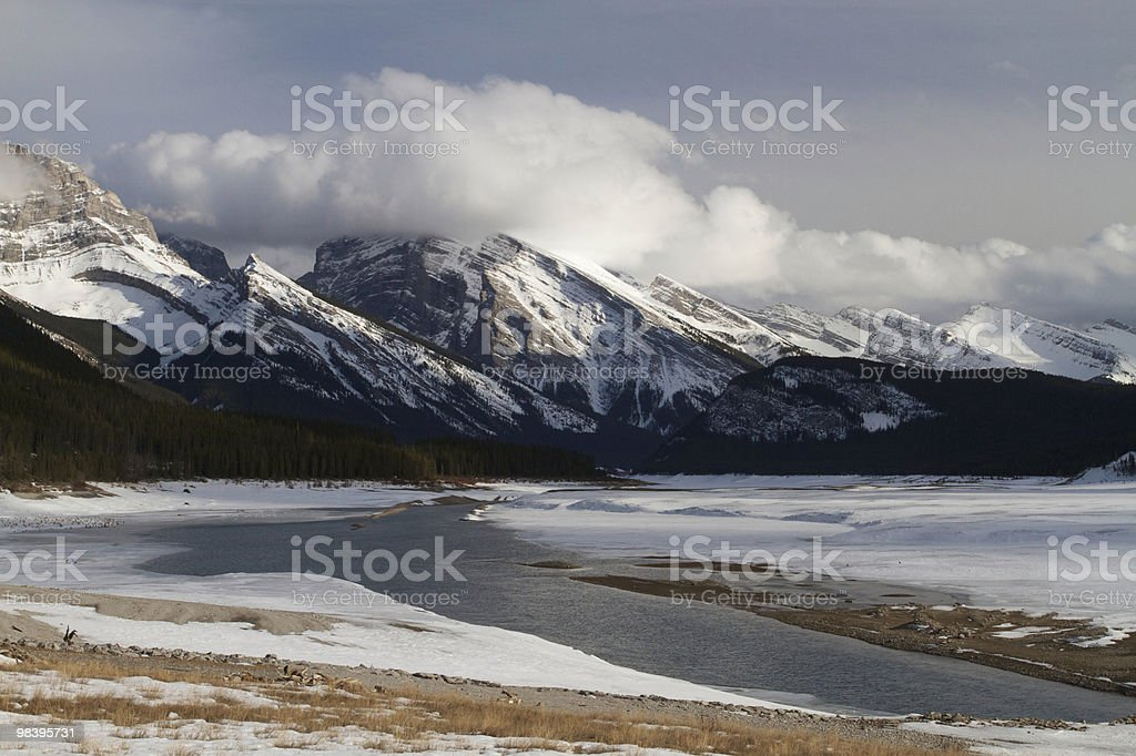 Kananaskis landscape royalty-free stock photo