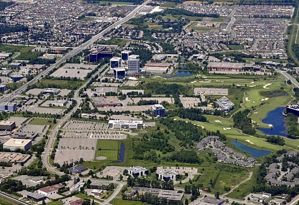 Eissporthalle Kanata Luftaufnahme – Foto