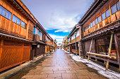金沢市の歴史的な地区