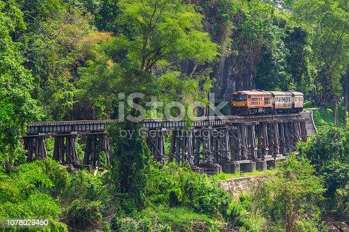 Thailand, Kanchanaburi Province, Iron County - Wisconsin, Train - Vehicle, Rail Transportation