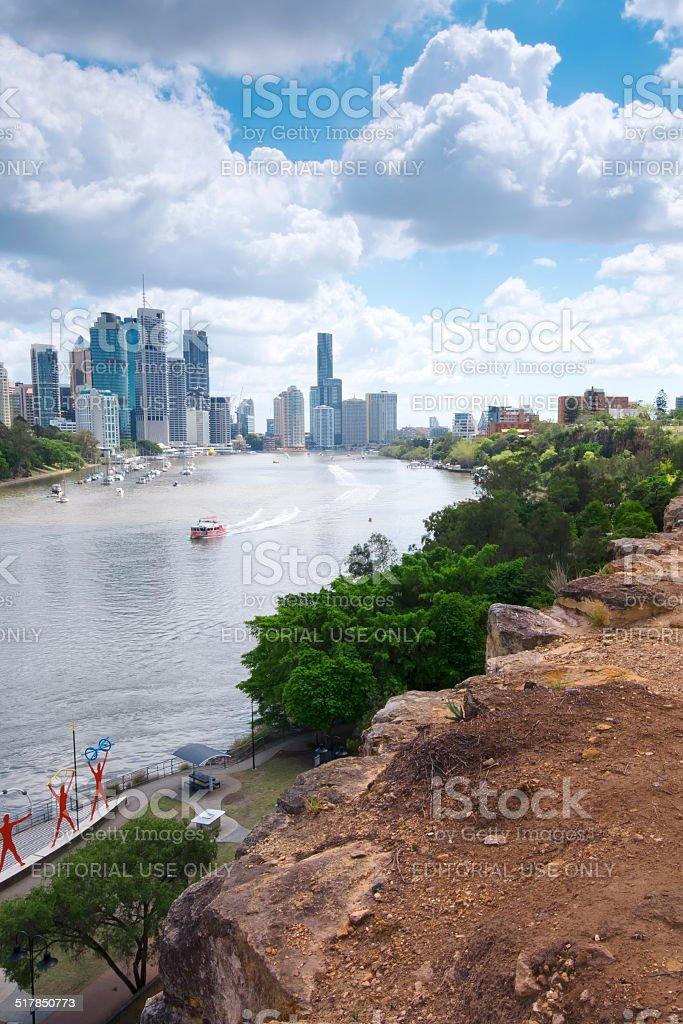 Kangaroo Point, Brisbane - QLD. stock photo