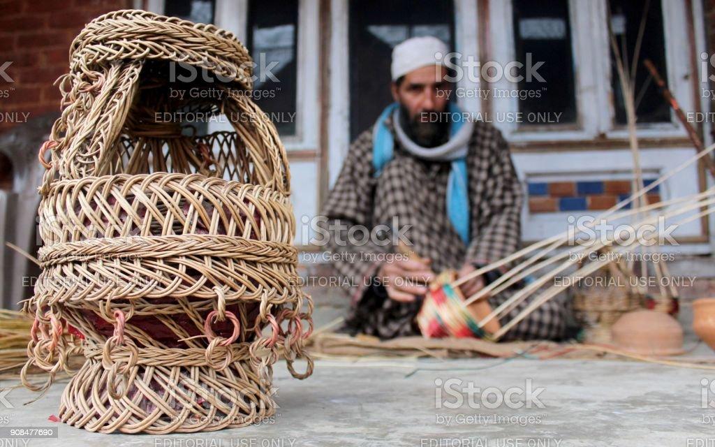 Kangri : The Traditional Firepot stock photo