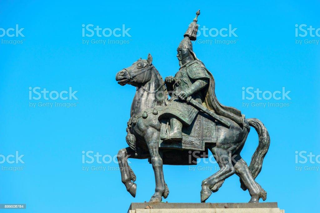 Kangxi Emperor Statue stock photo