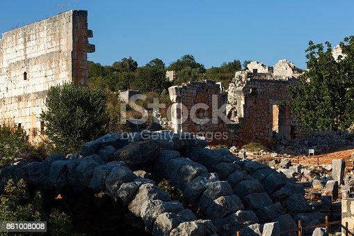 The Ancient City Of Kanlidivane Mersin, Turkey