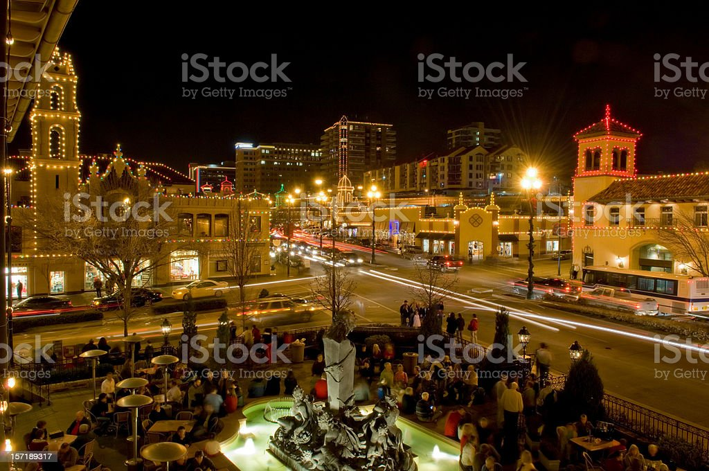 Kansas City, Missouri, Country Club Plaza royalty-free stock photo