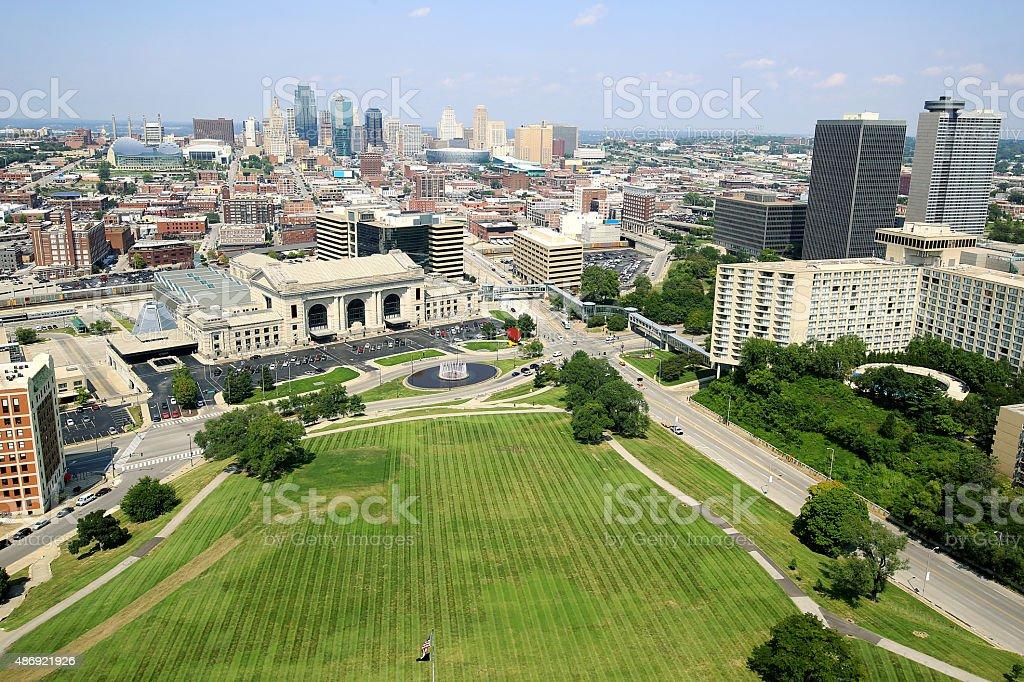 Kansas City Missouri stock photo