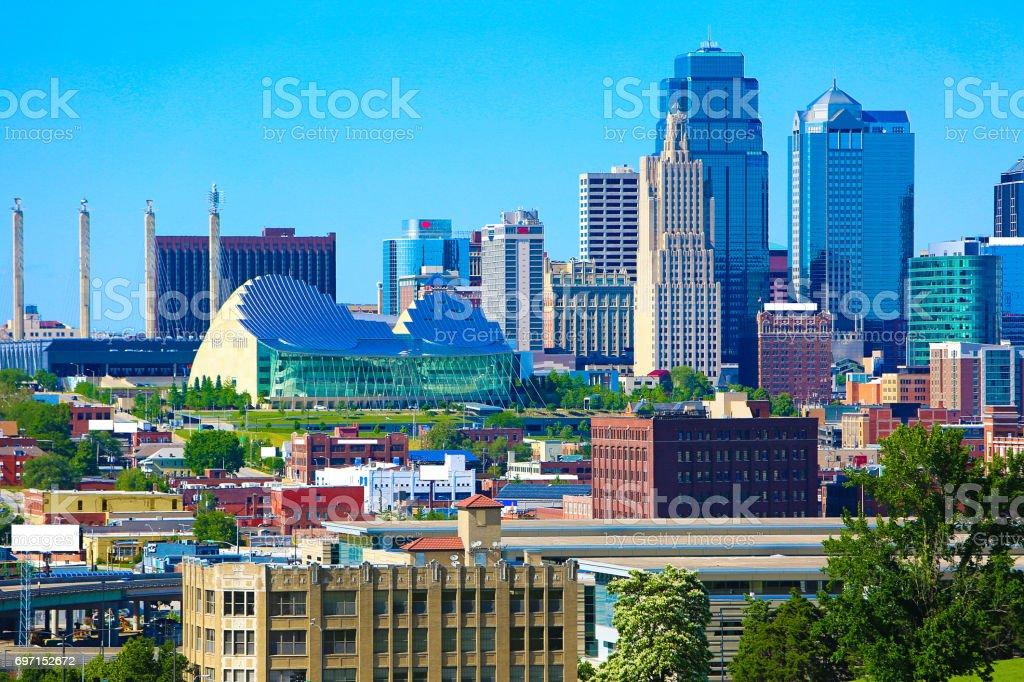 Skyline Von Kansas City Missouri Stock Fotografie Und Mehr Bilder