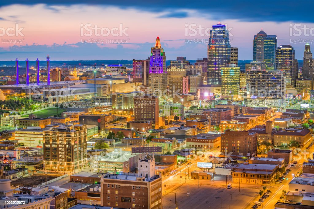 Kansas City Missouri Usa Skyline Stock Photo - Download ...