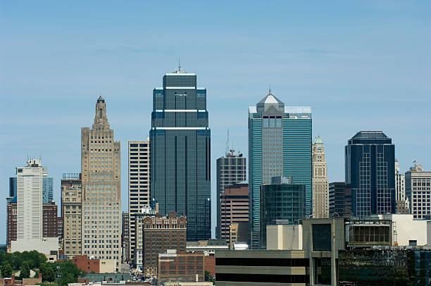 Kansas City Skyline 4 stock photo