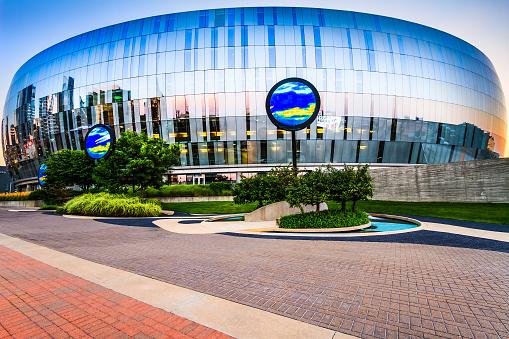 Kansas City Sprint Center Stock Photo - Download Image Now