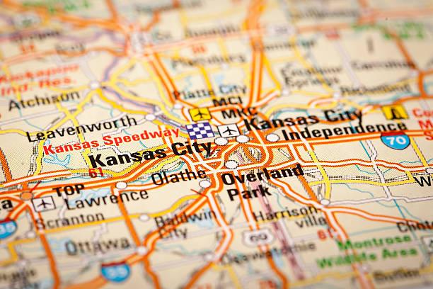 Kansas Map Pictures Images And Stock Photos IStock - Usa map kansas