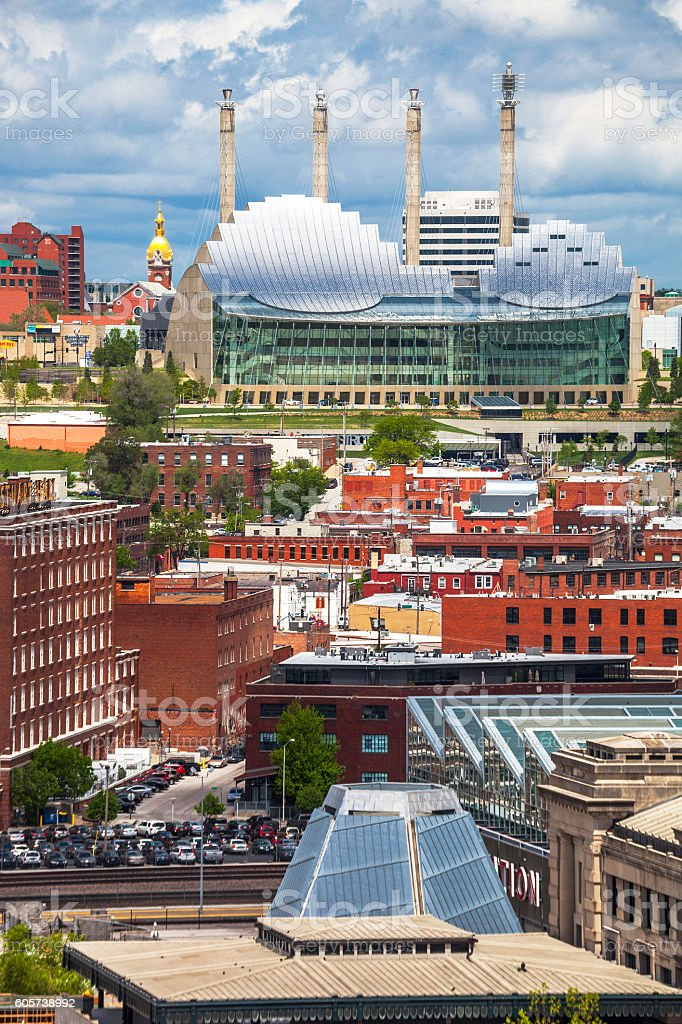 Kansas City view. stock photo
