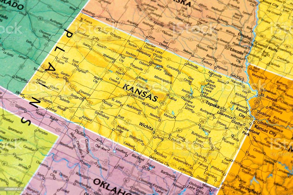 Kansas royalty-free stock photo