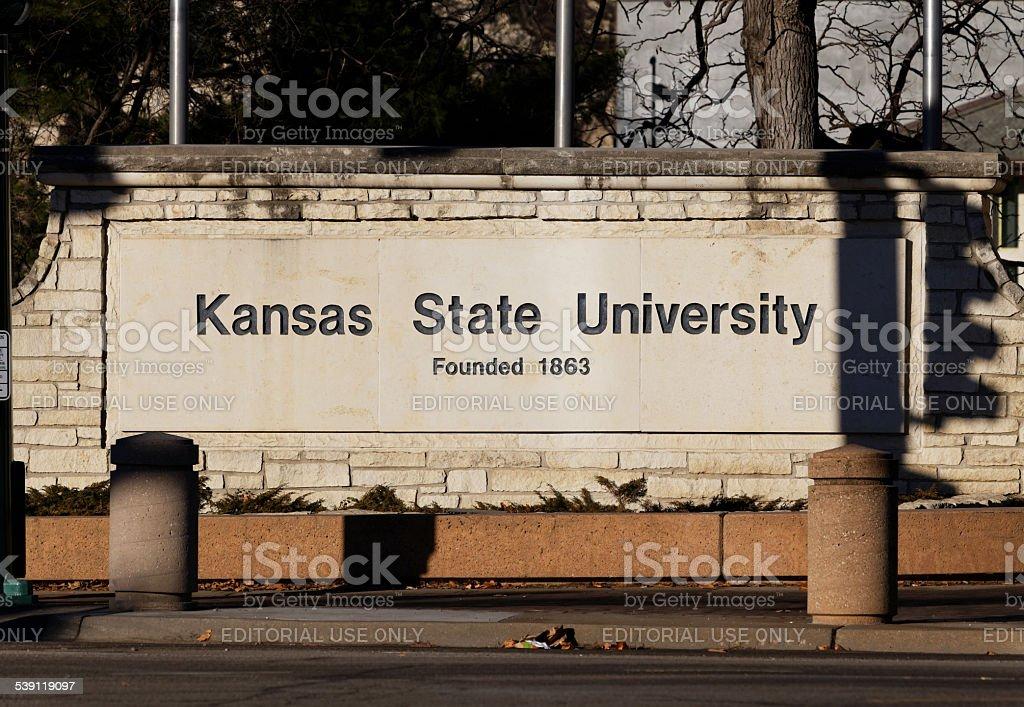 Kansas State University stock photo