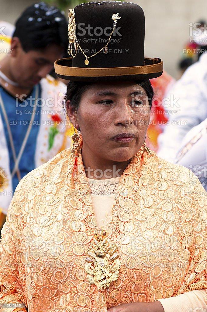 Kantuta Fair royalty-free stock photo