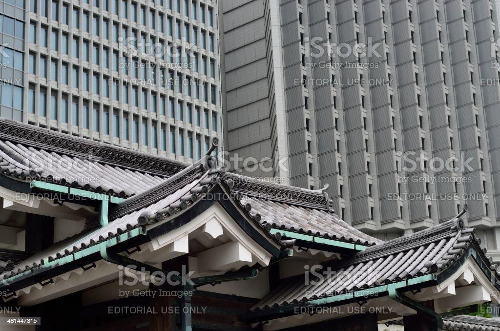Kanuki theater royalty-free stock photo