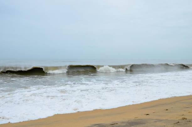 Kanvatheertha Strand in Talapady, Kerala, Indien – Foto