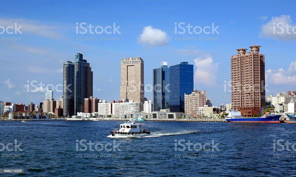 Kaohsiung City Skyline stock photo
