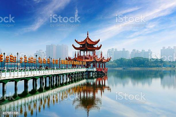 Kaohsiungs Famous Tourist Attractions Stock Photo - Download Image Now