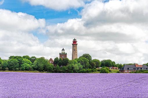 Kap Arkona with lighthouse