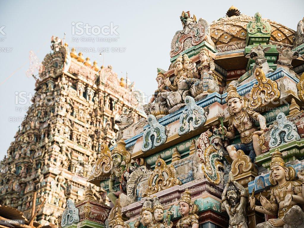 Kapaleeshwarar Temple, Chennai, India stock photo