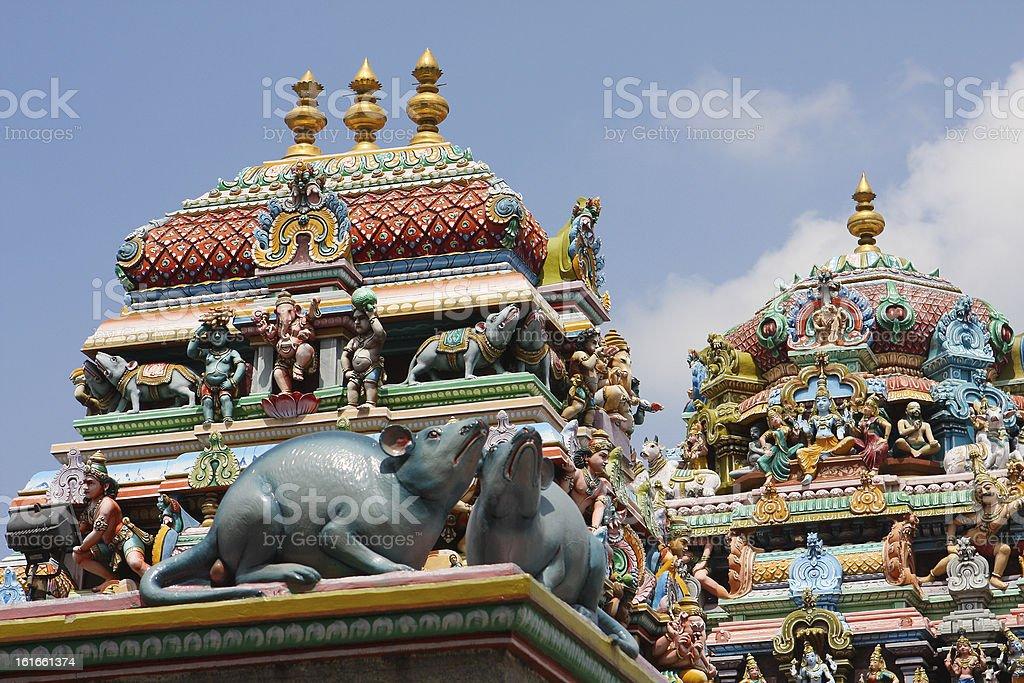 Kapaleeshwarar temple stock photo