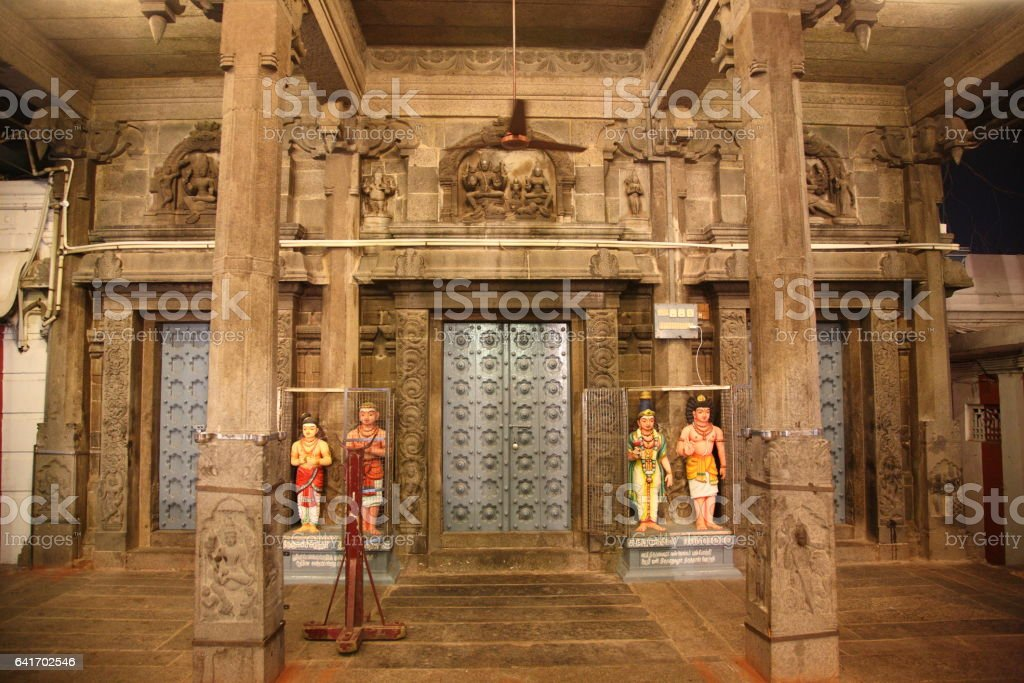 Kapaleeswarar Temple in Chennai, India stock photo