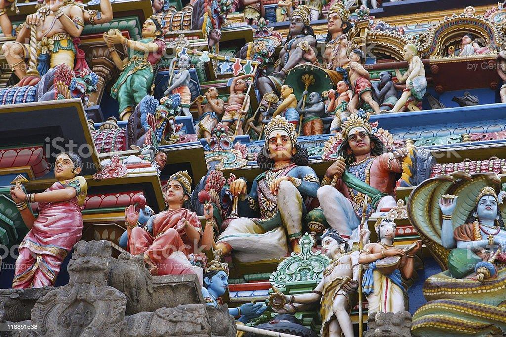 Kapaleeswarar temple in Chennai stock photo