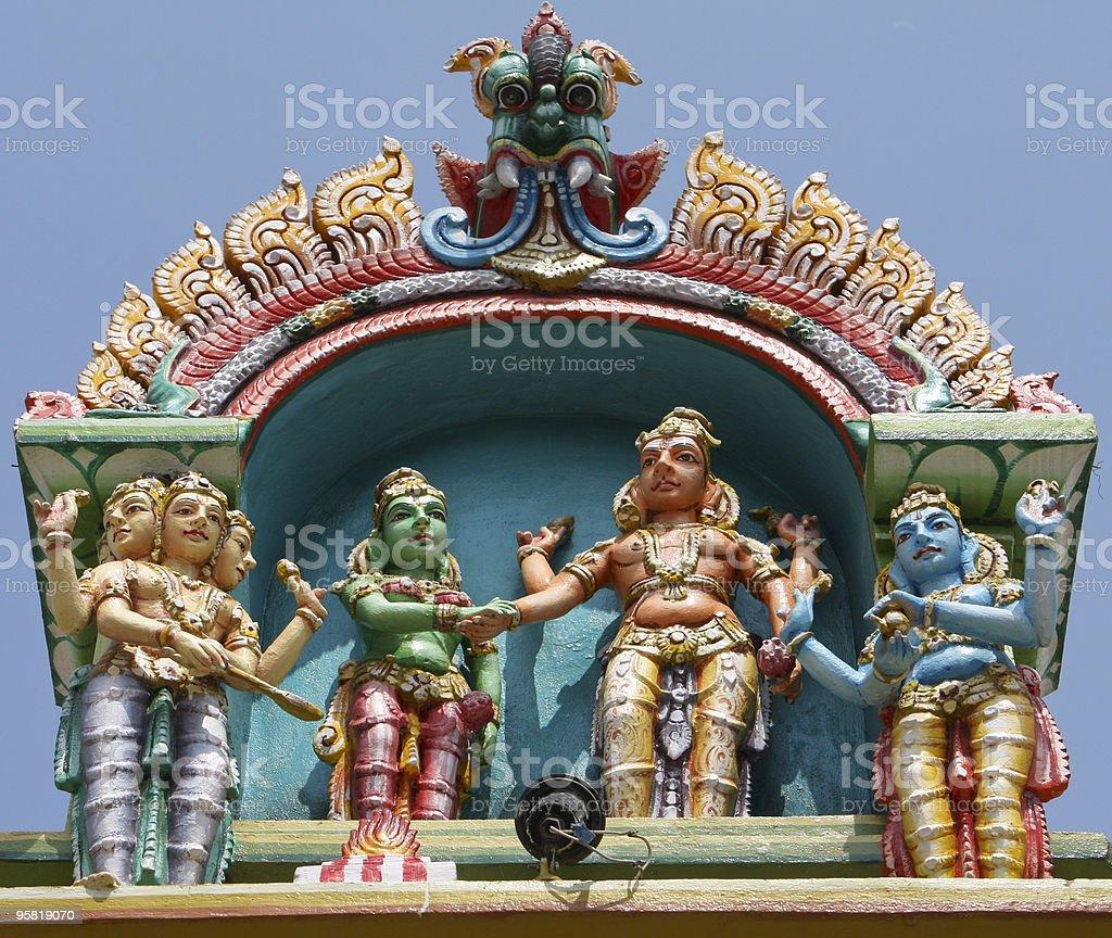 Kapaleeswarar temple stock photo