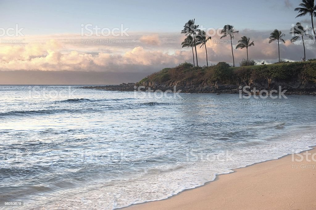 Kapalua Bay, Maui, Hawaii royalty-free stock photo