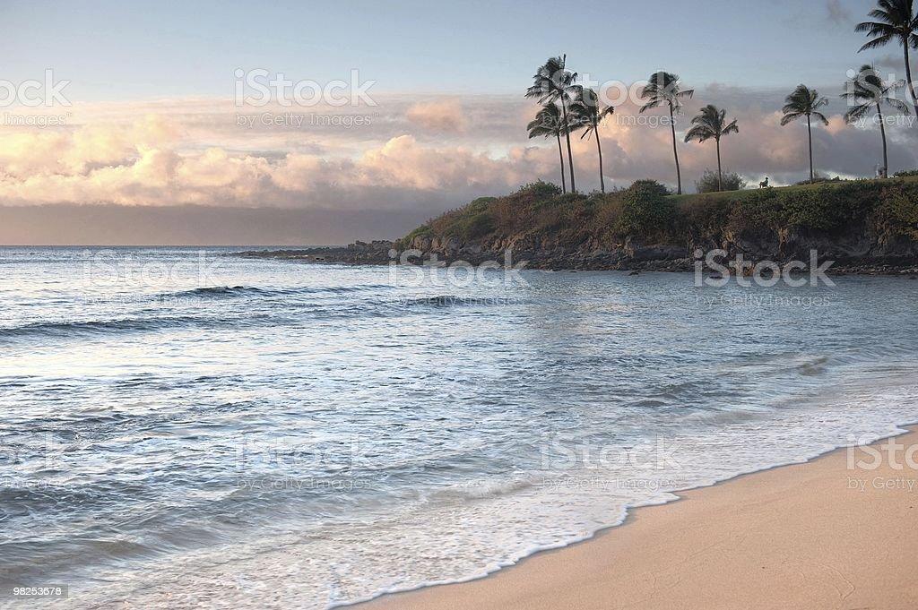 Kapalua Bay, Maui, Hawaii stock photo