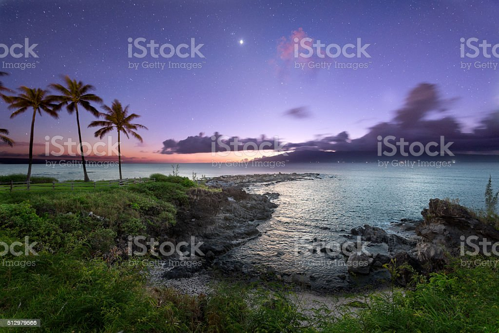 Kapalua Maui stock photo