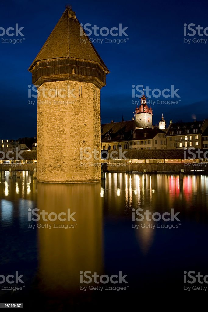 Kapellbruecke royalty-free stock photo