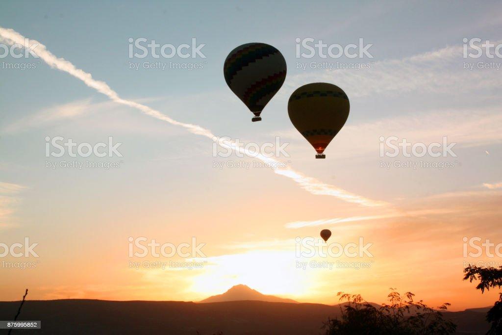 Kapodokya balloon stock photo