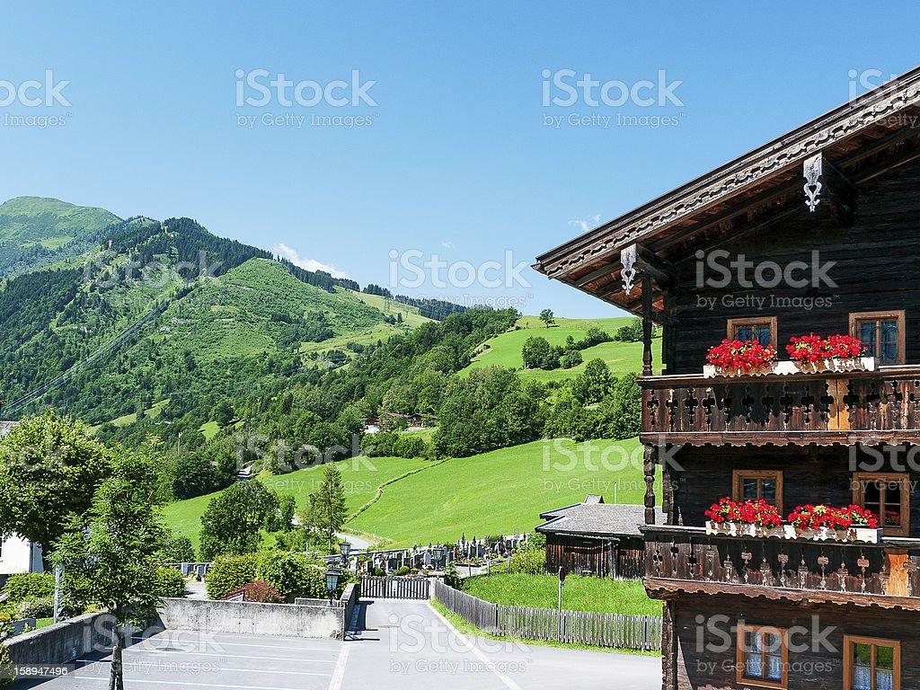 Kaprun, Austria stock photo