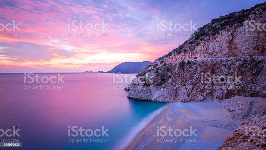 Kaputas Beach stock photo