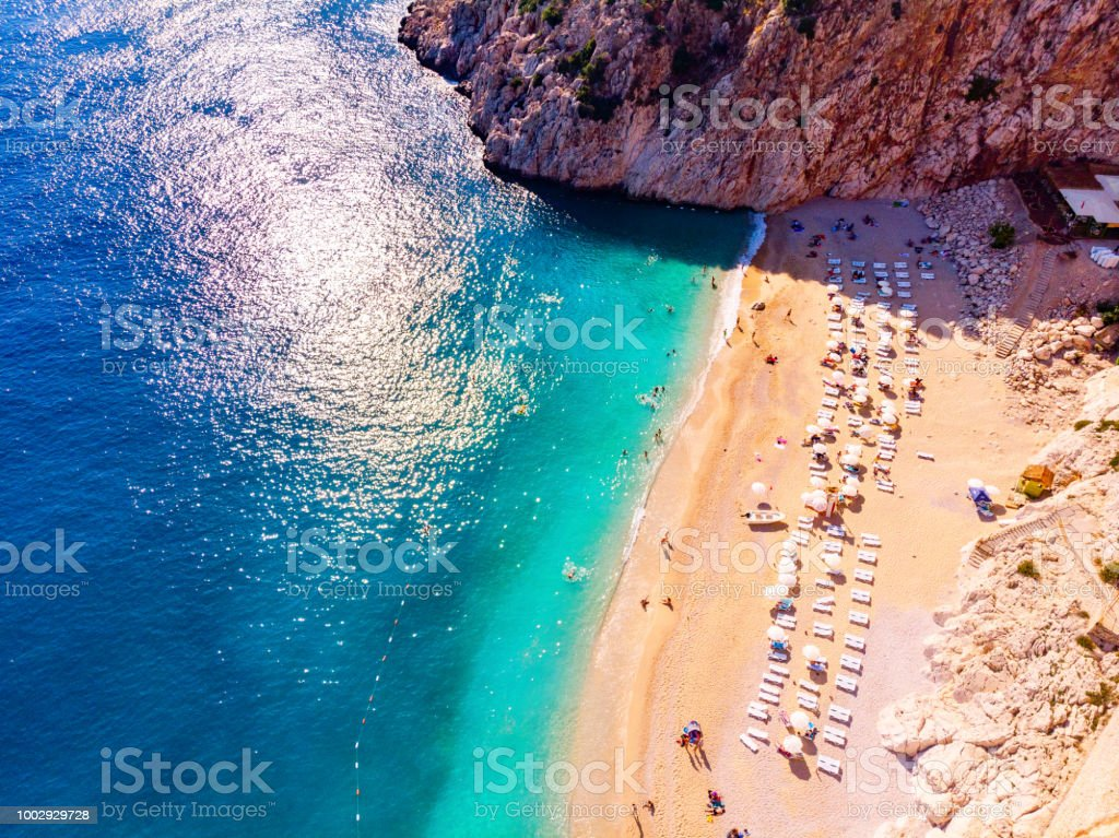Kaputas, Kaş, Antalya stock photo
